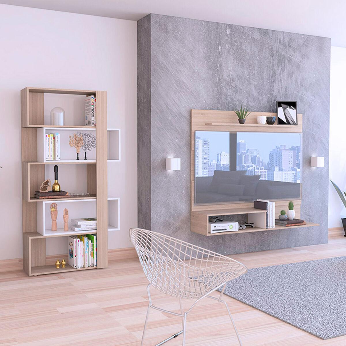 Set Panel TV + Biblioteca
