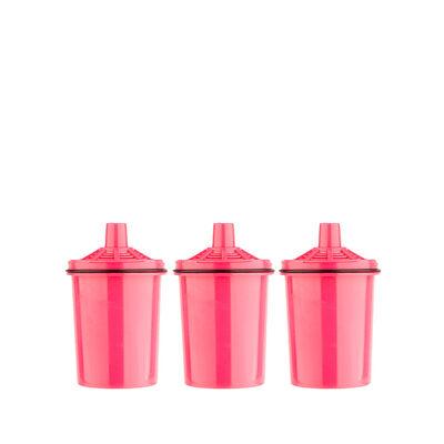 Pack 3 Filtros de Jarro Purificador Agua Dvigi Rosa