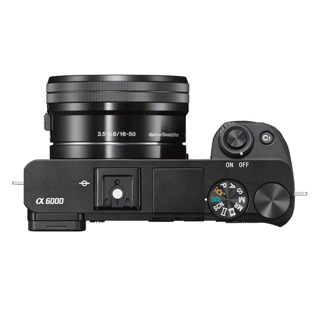 Cámara Sony ILCE-6000L 24.3MP