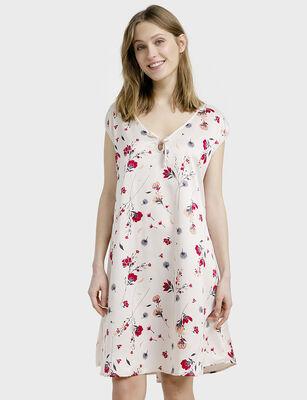 Camisa de Dormir Estampada  Mujer Chicfrance