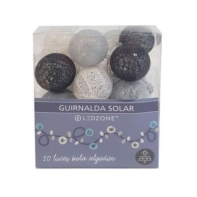 Luces Ledzone Guirnalda Solar