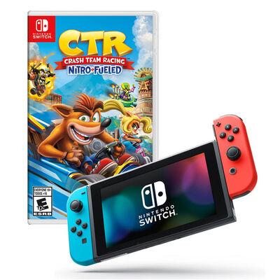 Nintendo Switch + Juego Crash Team Racing