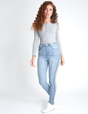 Jeans Indigo Icono Mujer Tape