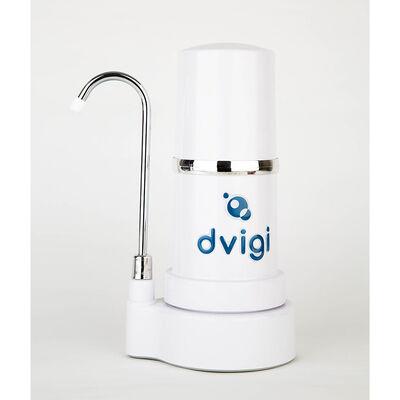 Purificador de Agua Dvigi Filtro Sobre Cubierta Blanco