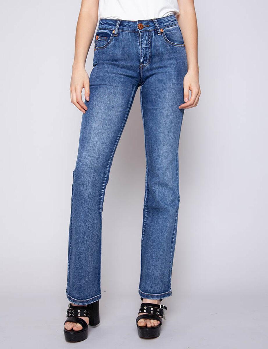 Jeans Long Leg Mujer Ellus