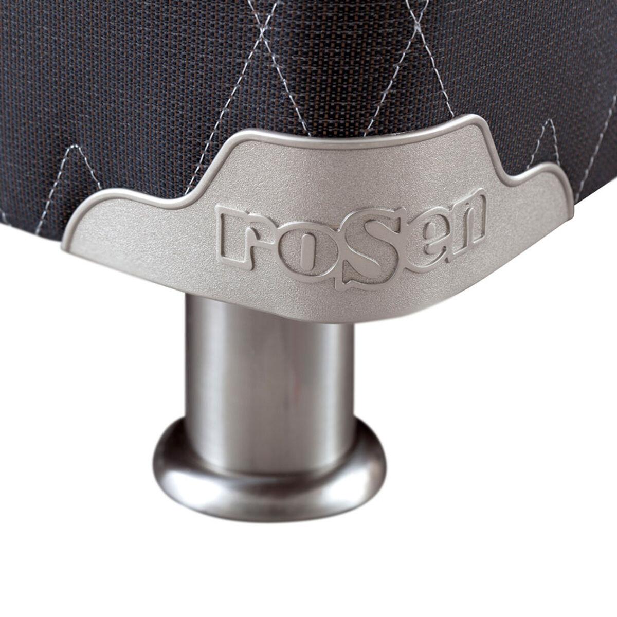 Box Spring 2 plazas Rosen Ergo T +Respaldo+Velador+Textil