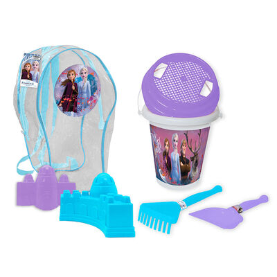 Set Playa Mochila Y Accs Frozen Disney