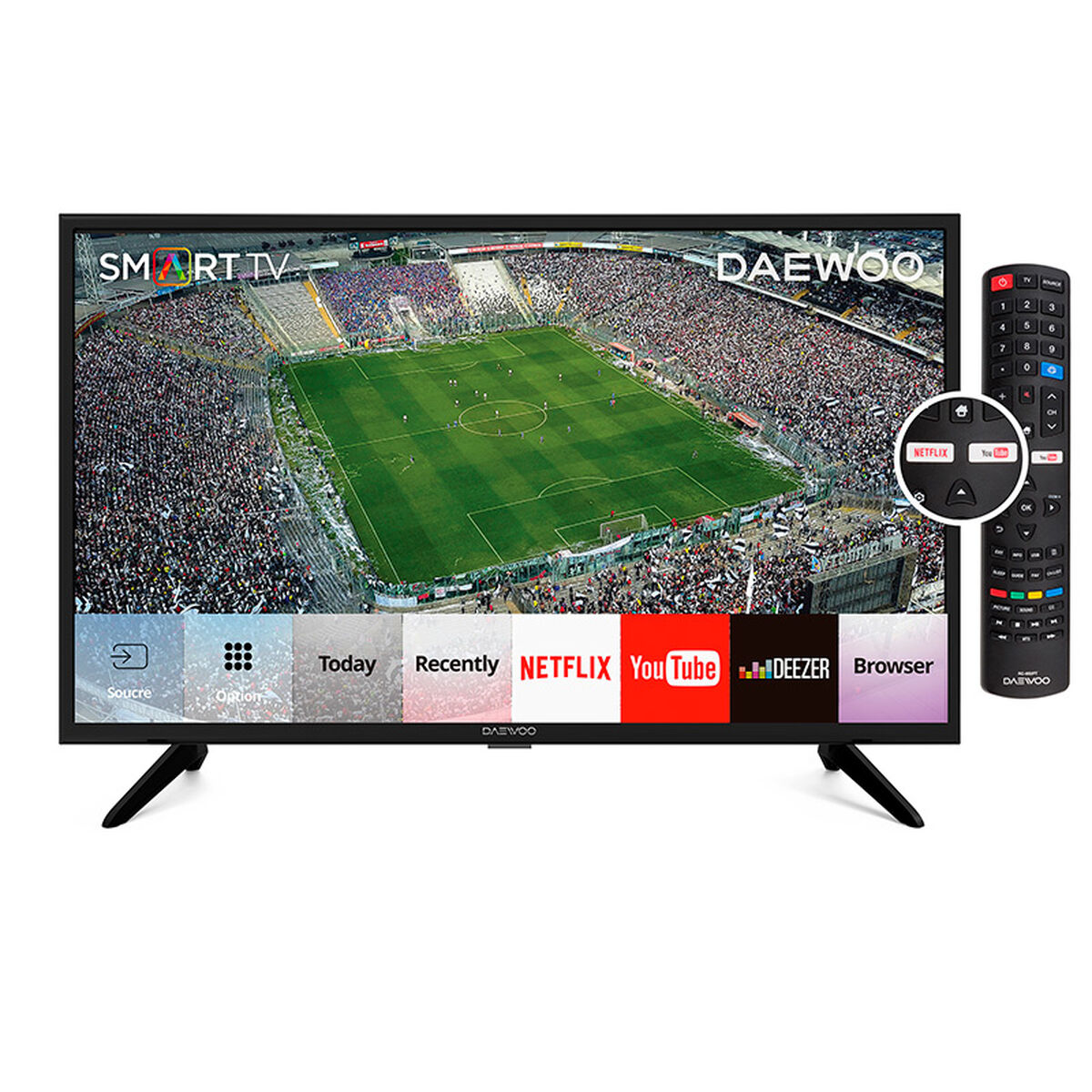 """LED 32"""" Daewoo L32V780BTS Smart TV HD"""
