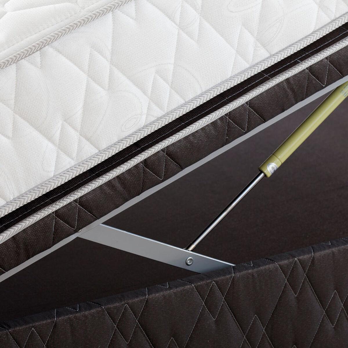 Boxet 1,5 plazas Rosen + Respaldo + Veladores + Textil