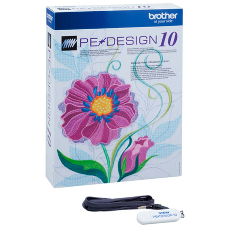Programa PE Design 10 Brother