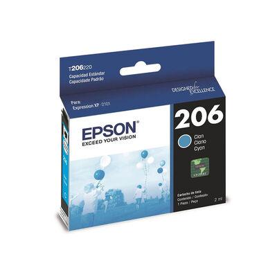 Tinta Cartridge Epson T206 220-AL Cyan