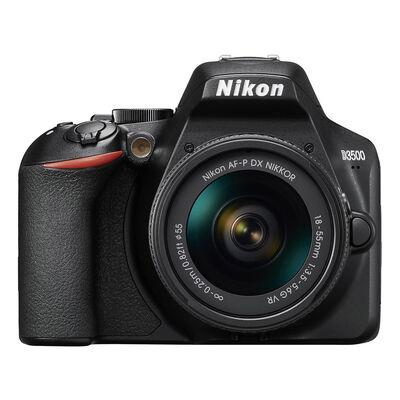 Cámara Réflex Nikon D3500 + Lente 18-55 mm