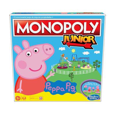 Juego de Mesa Monopoly Junior: Peppa Pig