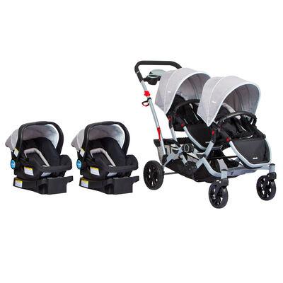 Coche Doble Infanti Duo Ride S813
