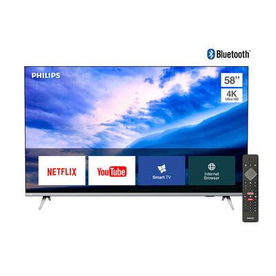 "LED 58"" Philips 58PUD6654 Smart TV 4K Ultra HD Borderless"