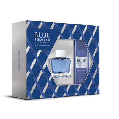 Estuche Blue Seduction (EDT 50ml + Desodorante 150ml)