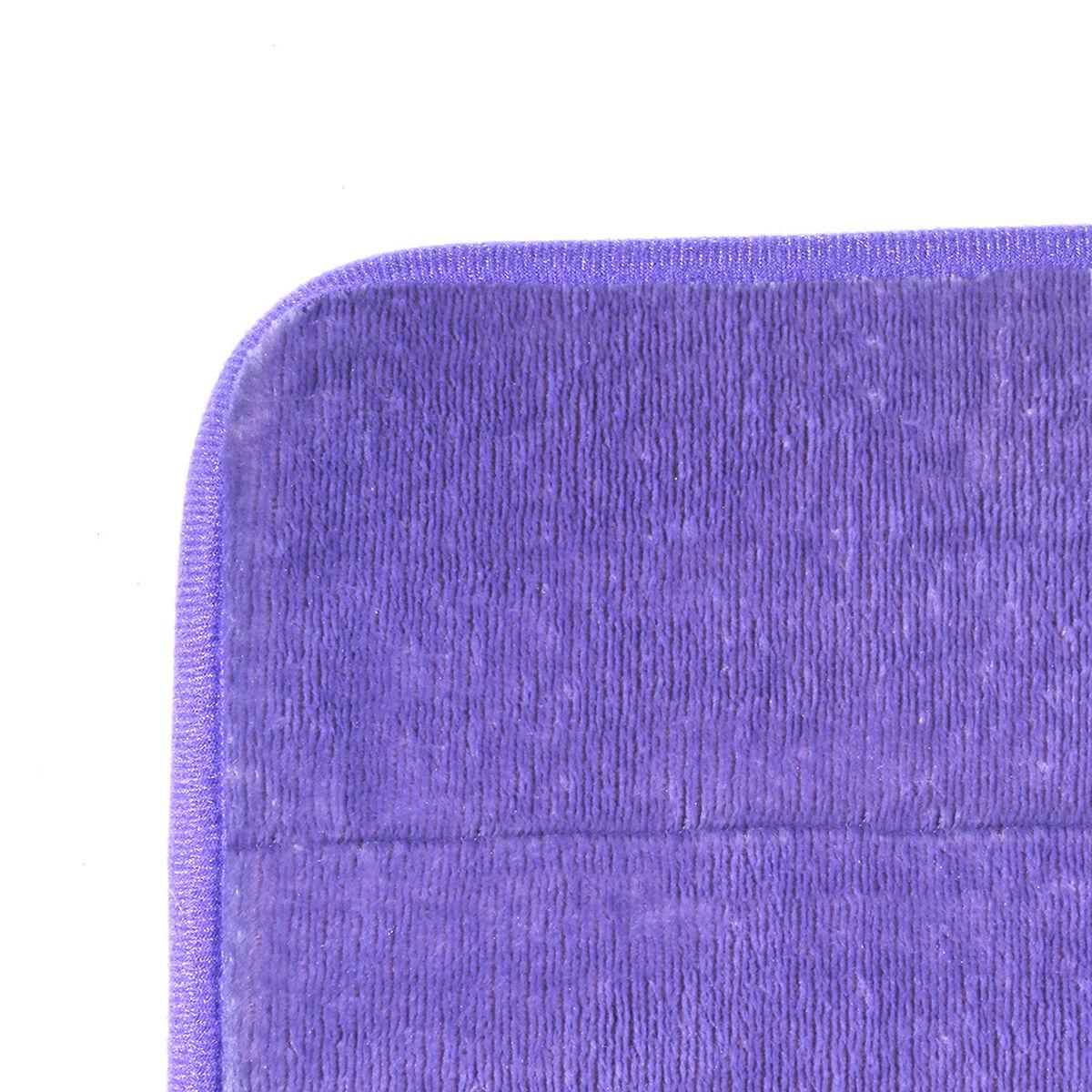 Piso de Baño Flannel Lila