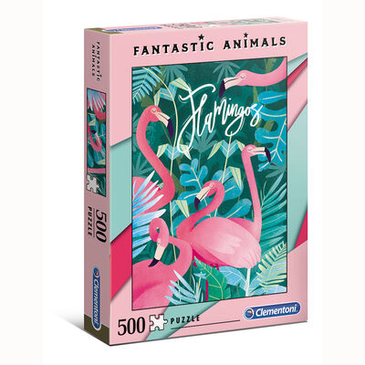 Juego de mesa Clementoni Flamingos - Fantastic Animals