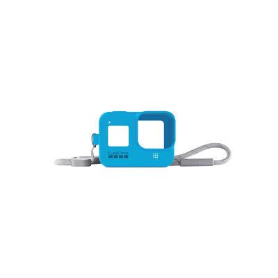 Funda de Silicona + Cordón Azul para GoPro HERO8
