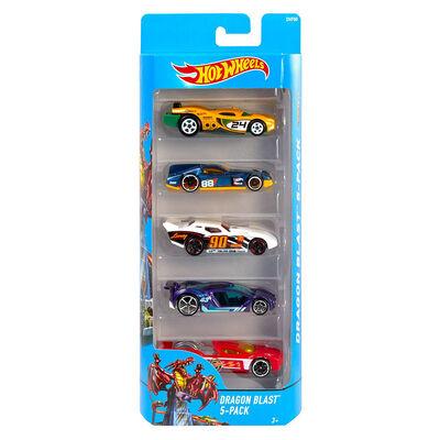 Hot Wheels Paquete de 5 Autos