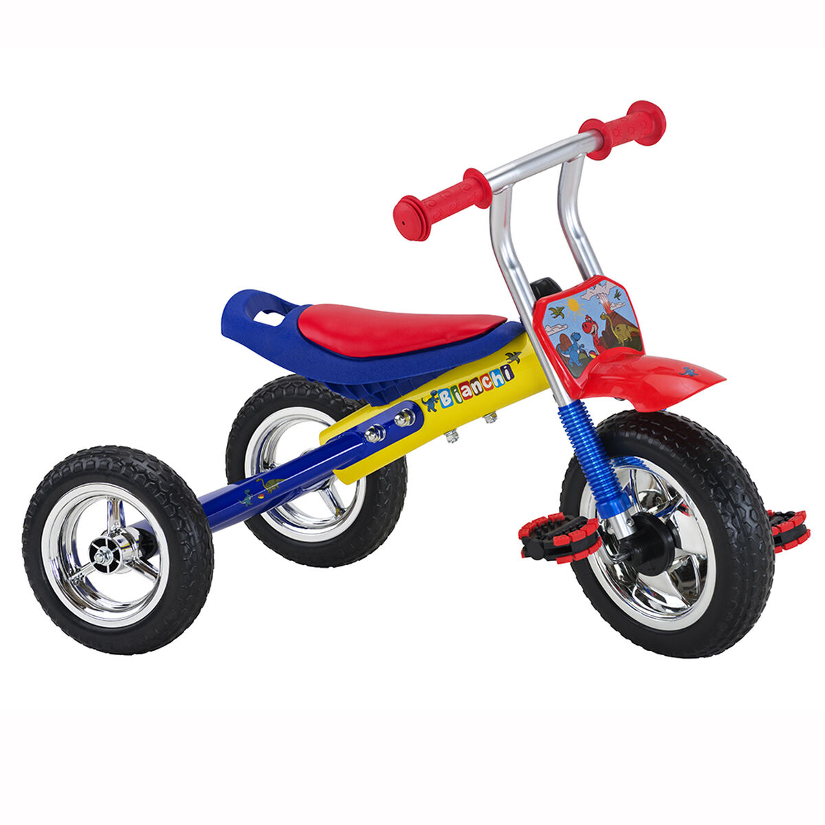 Triciclo Infantil Bianchi Kid Rider Aro 12
