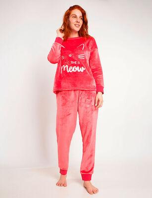 Pijama Polar Mujer Lady Genny