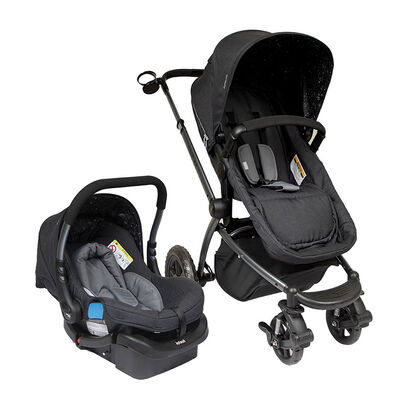 Coche Travel System Epic 5G Black Infanti