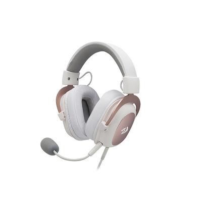 Audífonos Gamer Redragon Zeus H510W Blancos