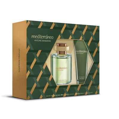 Estuche Mediterraneo (EDT 50ml + After Balm 75ml)