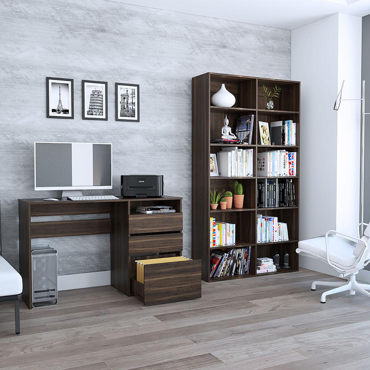 Escritorio + Biblioteca Tuhome