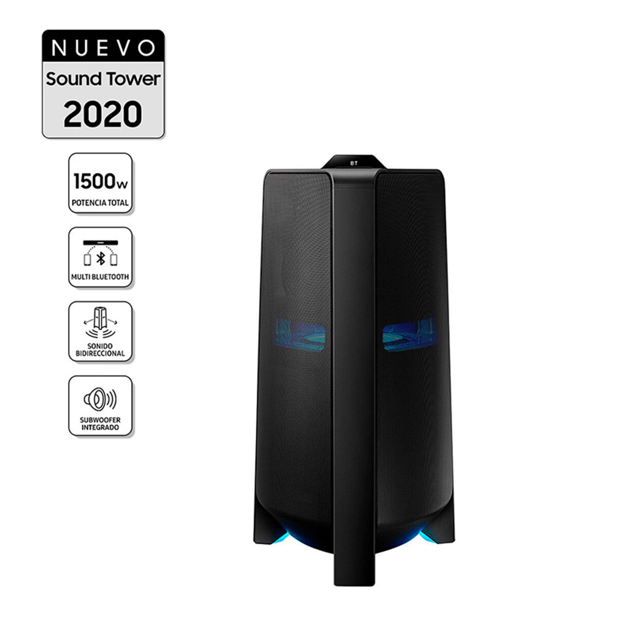 Minicomponente Sound Tower Samsung MX-T70/ZS