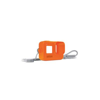 Funda de Silicona + Cordón Naranjo para GoPro HERO8