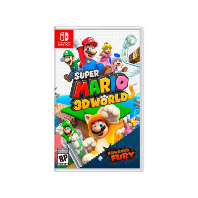 Juego Nintendo Switch Super Mario 3D World Bowsers Fury