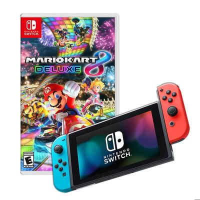 Nintendo Switch + Juego Mario Kart 8 Deluxe