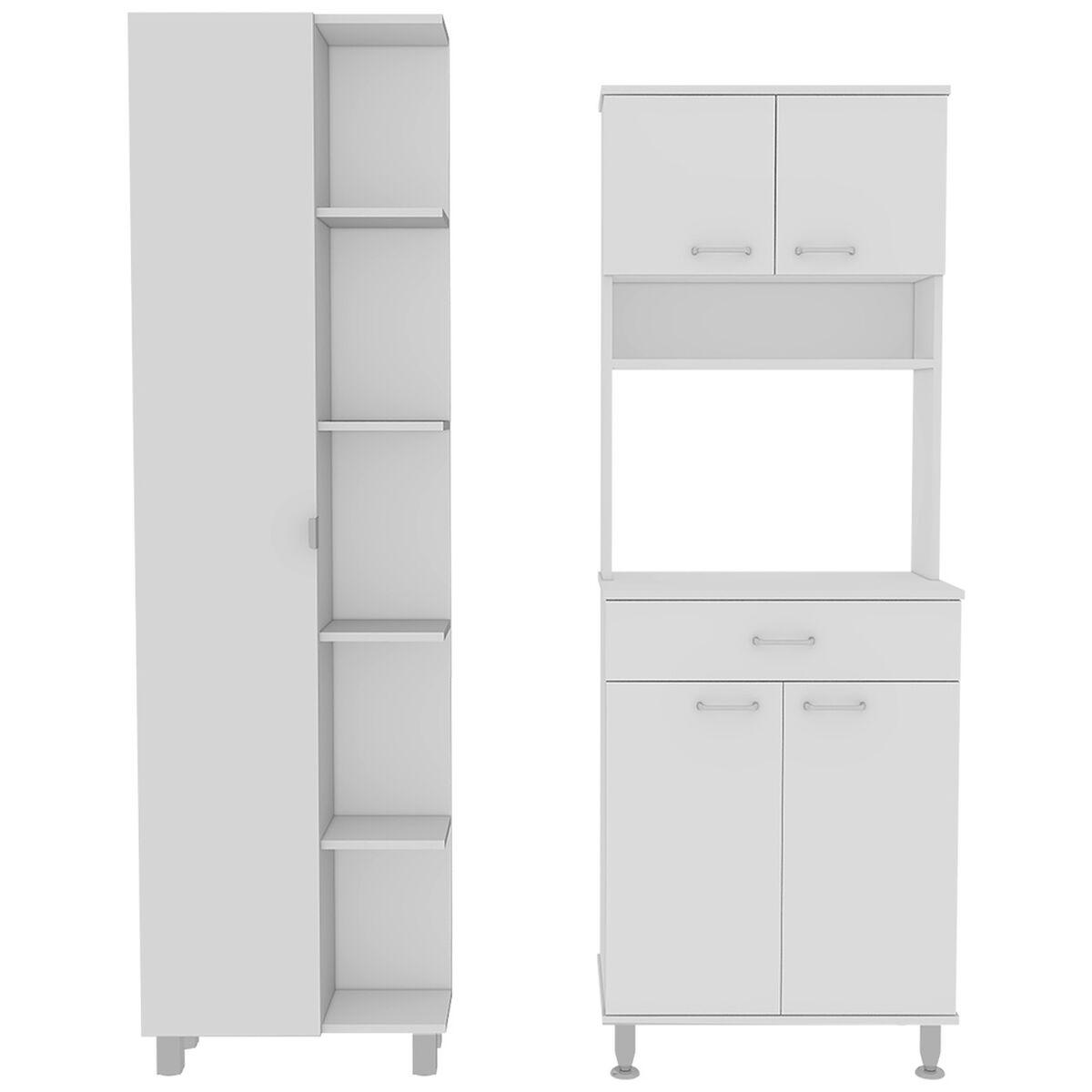 Combo Kitchen 7 Mueble Microondas + Optimizador