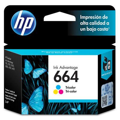 Tinta Hp tricolor 664