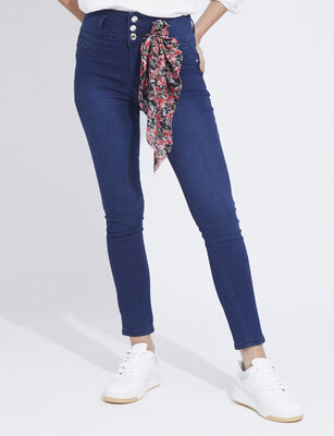 Jeans Push Up Mujer Fiorucci