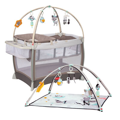 Cuna Playard Tinylove Grey