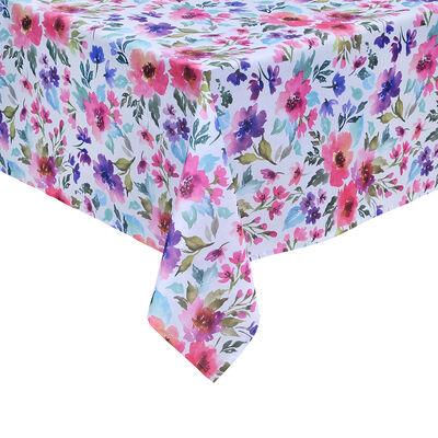 Mantel Mashini Aquarela Petunia 150 x 210 cm