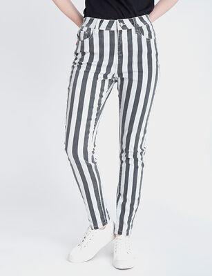 Jeans Indigo Mujer Fiorucci Líneas Push Up