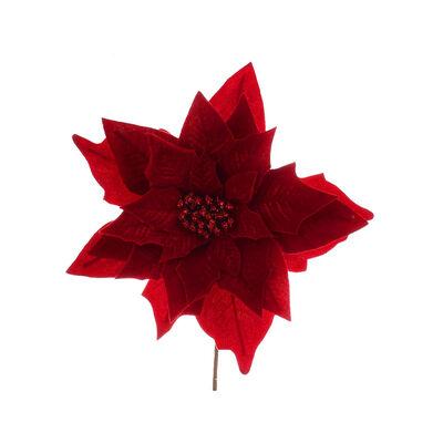 Flor Decorativa Roja Santini 32 cm