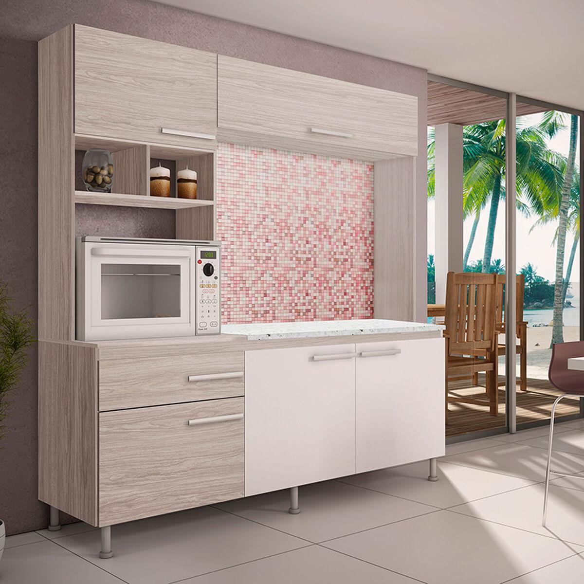 Mueble de Cocina Lais 6 Puertas | laPolar.cl