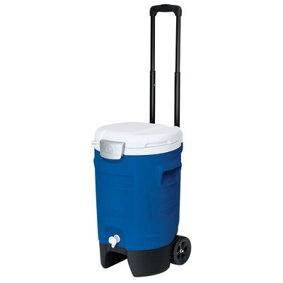 Cooler Igloo Sport 18.9 lt con ruedas azul