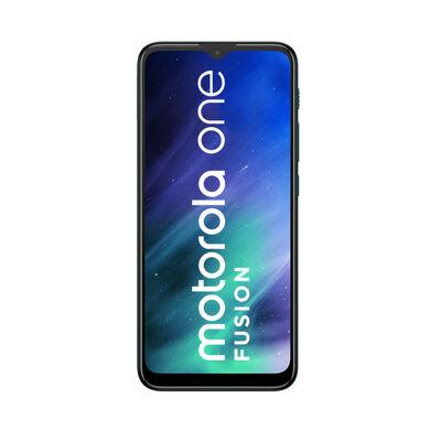 "Celular Motorola One Fusion 64GB 6,51"" Esmeralda Liberado"