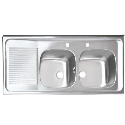 Lavaplatos Sobreponer Splendid 1200x500 CO IZ