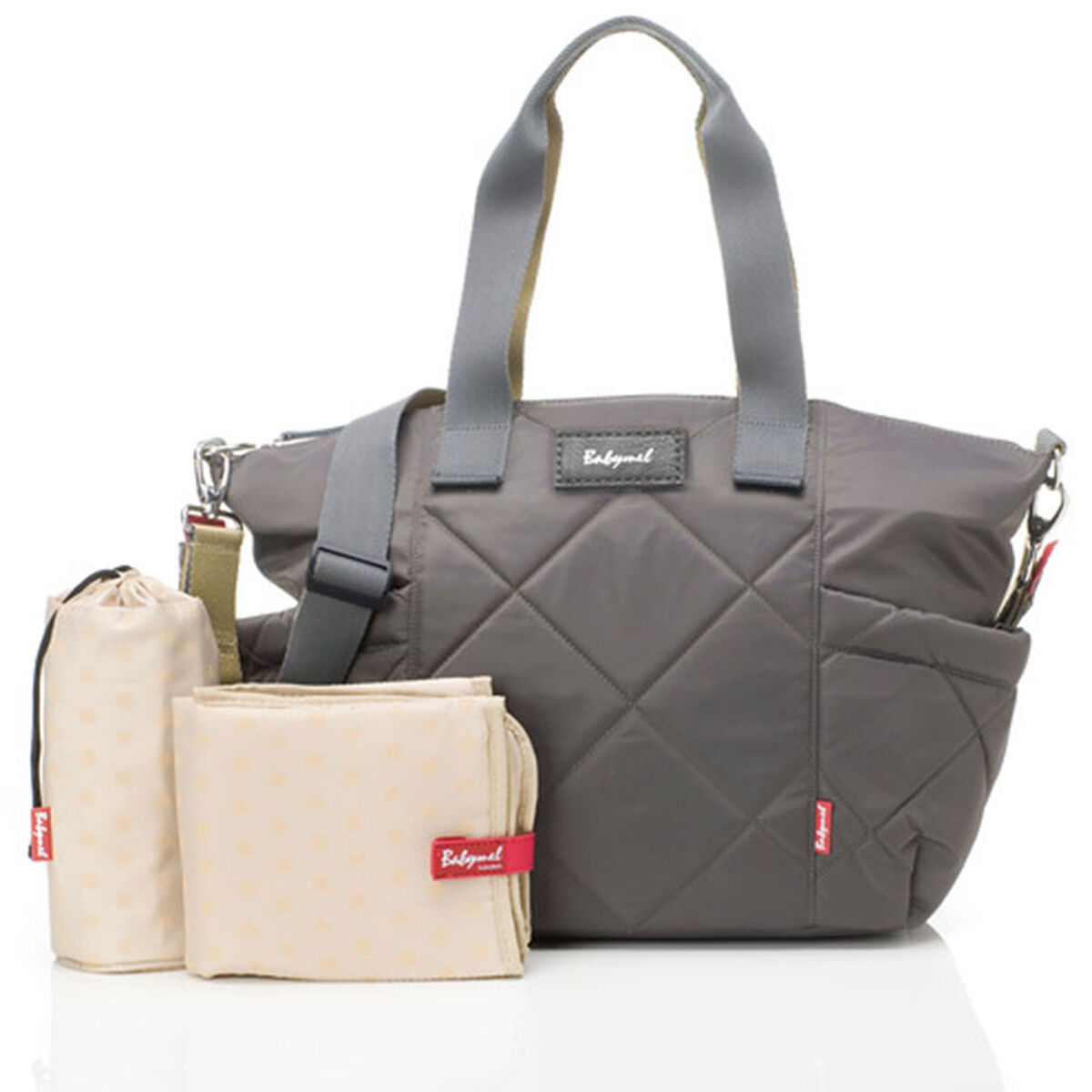 Bolso Evie Quilted Grey