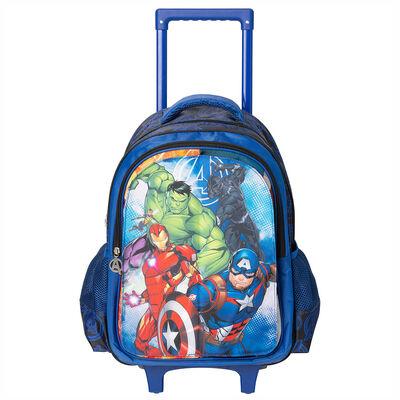 Mochila Con Ruedas Avengers 3 Capas