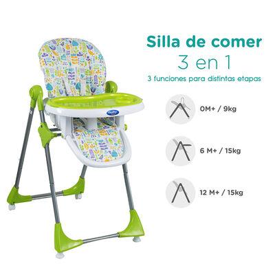 Silla de comer Baby Way BW-814G18 Verde