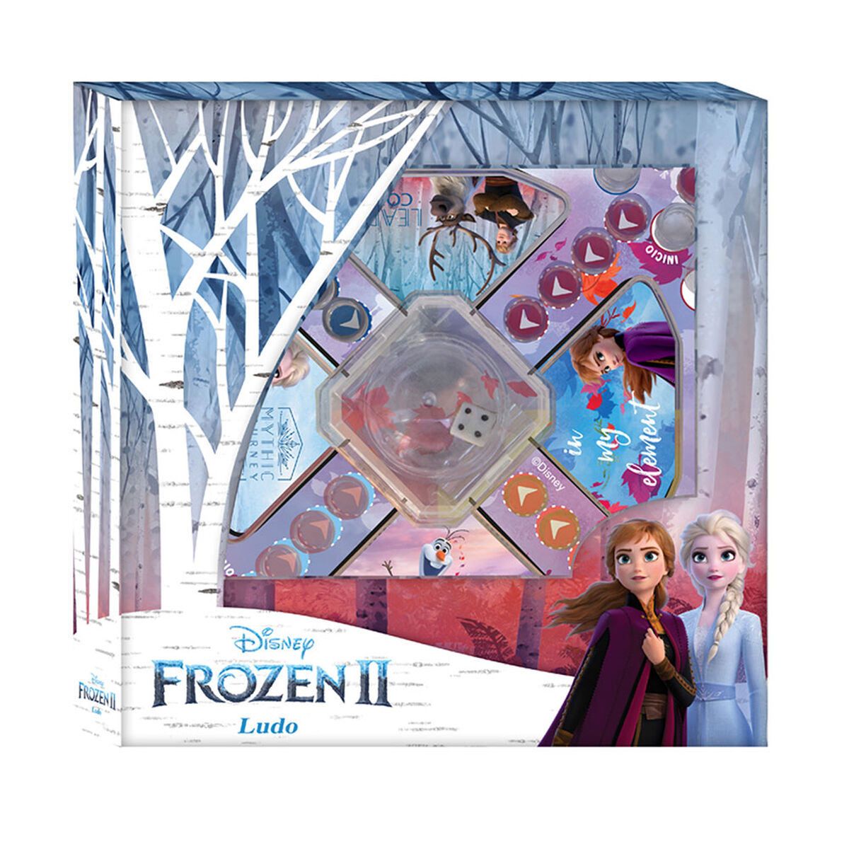 Juego Ludo Frozen Disney