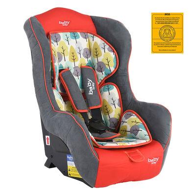 Silla Auto Baby Way 744R18 Rojo
